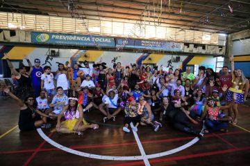 A alegria foi marcante no baile carnavalesco do CIAD. Foto: Marcos de Paula / Prefeitura do Rio