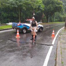 Bloqueios acontecerão quando a cidade entrar em Estágio de Atenção. Foto: Divulgação / Guarda Municipal