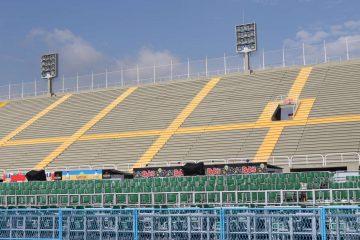 Esta é a maior intervenção já realizada no Sambódromo. Foto: Hudson Pontes / Prefeitura do Rio