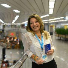 Danielle Lopes ficou desempregada por três anos e se recolocou no mercado com ajuda do CMTE. Foto: Marco Antonio Rezende / Prefeitura do Rio