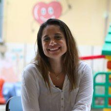 Flávia Santos, Agente de administração na Prefeitura há 17 anos