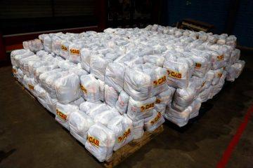 Ainda esta semana as cestas começam a ser distribuídas para os cadastrados no Ambulante Legal. Foto: Marcos de Paula/Prefeitura do Rio