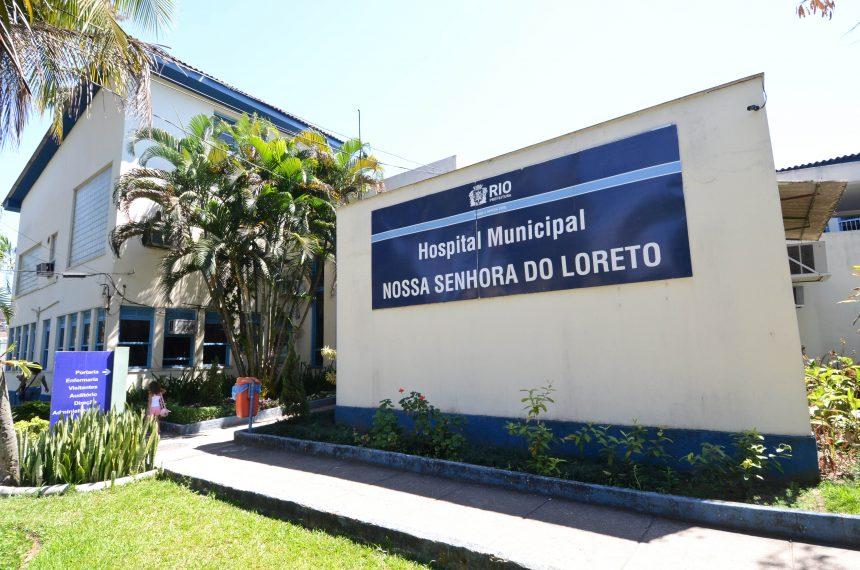 Fachada Hospital Nossa Senhora do Loreto