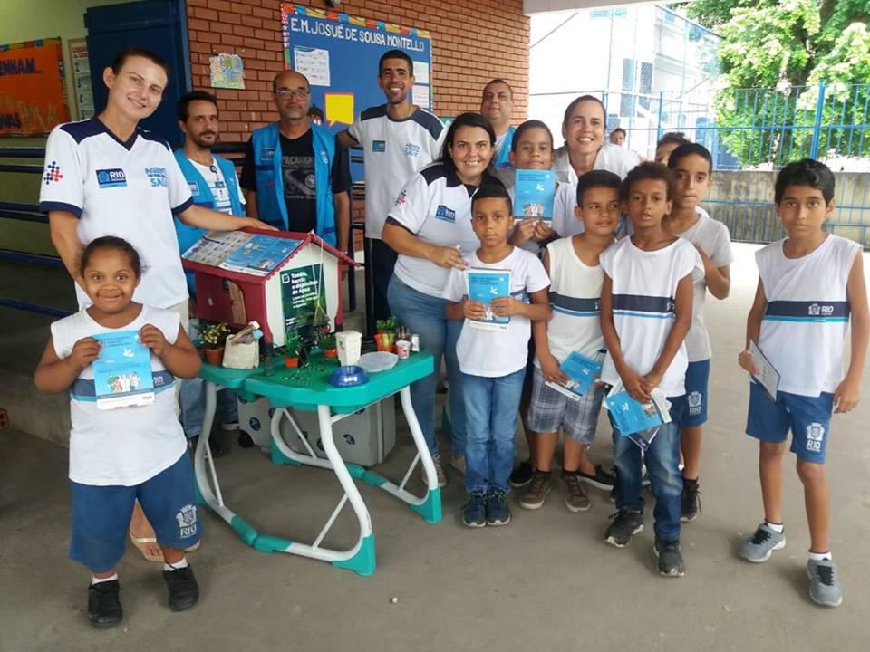 Alunos de escolas municipais participam da Semana de Prevenção às Arboviroses