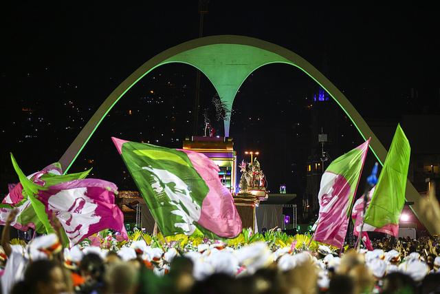 Desfile da Mangueira na Sapucaí