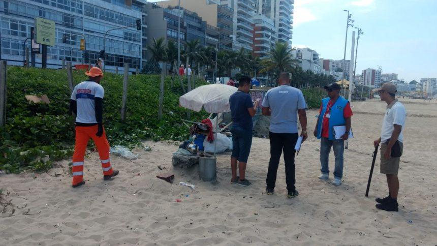 Equipes da Prefeitura realizam operação na Zona Sul