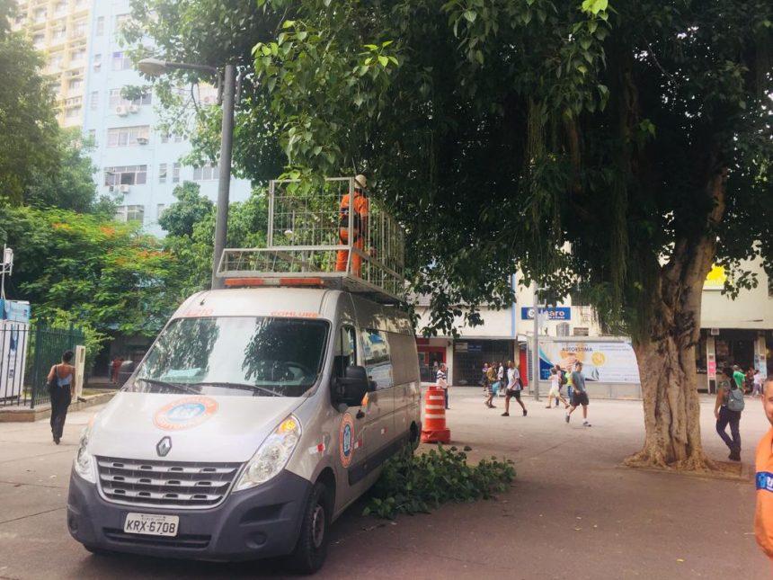 Prefeitura do Rio realiza ação de ordenamento na região da Saens Peña, nesta quinta, 28