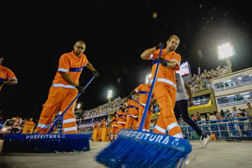 Comlurb recolheu 1,2 toneladas de lixo na operação de Carnaval