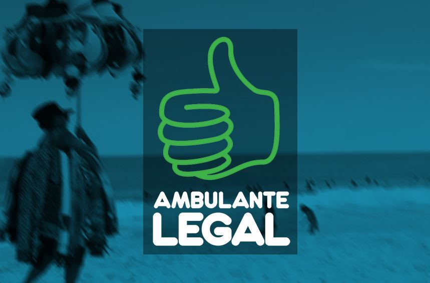 Logo do programa Ambulante Legal