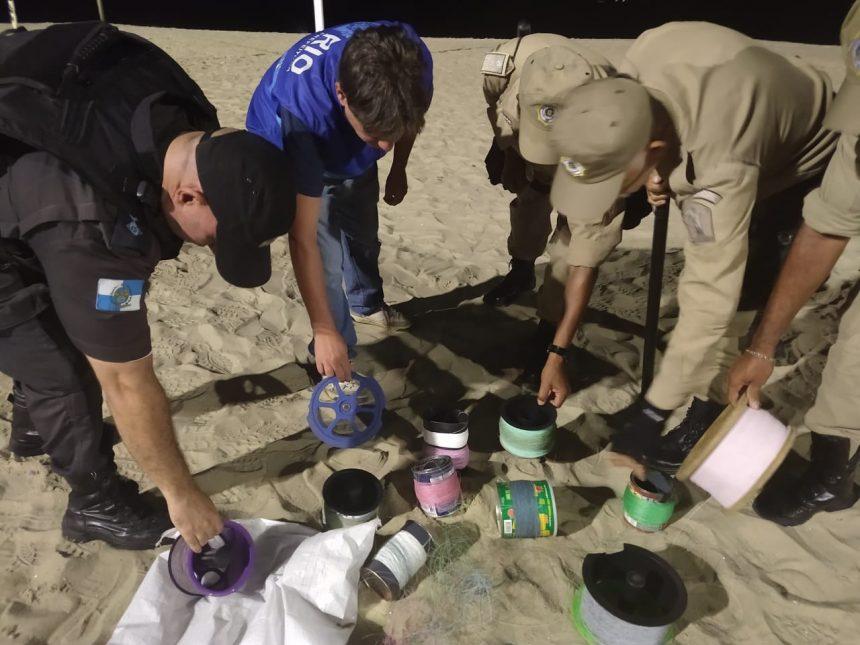 Guardas municipais apreendem linhas com cerol em festival de pipa
