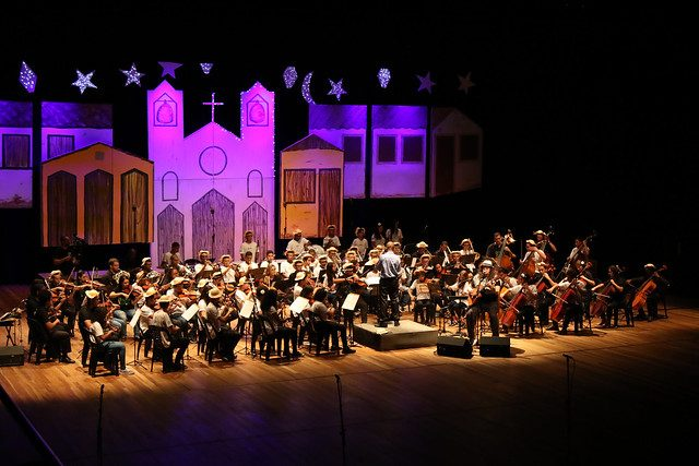 Orquestra Sinfônica Juvenil Carioca se apresenta na Cidade das Artes