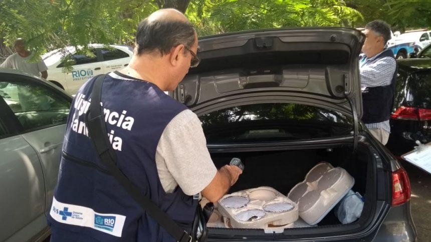 Fiscais da Vigilância Sanitária atuam na Zona Sul do Rio