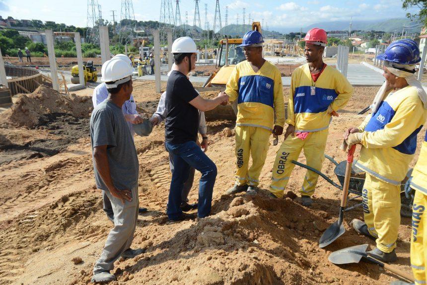 A construção civil é uma área com cursos de capacitação oferecidos pela SMDEI