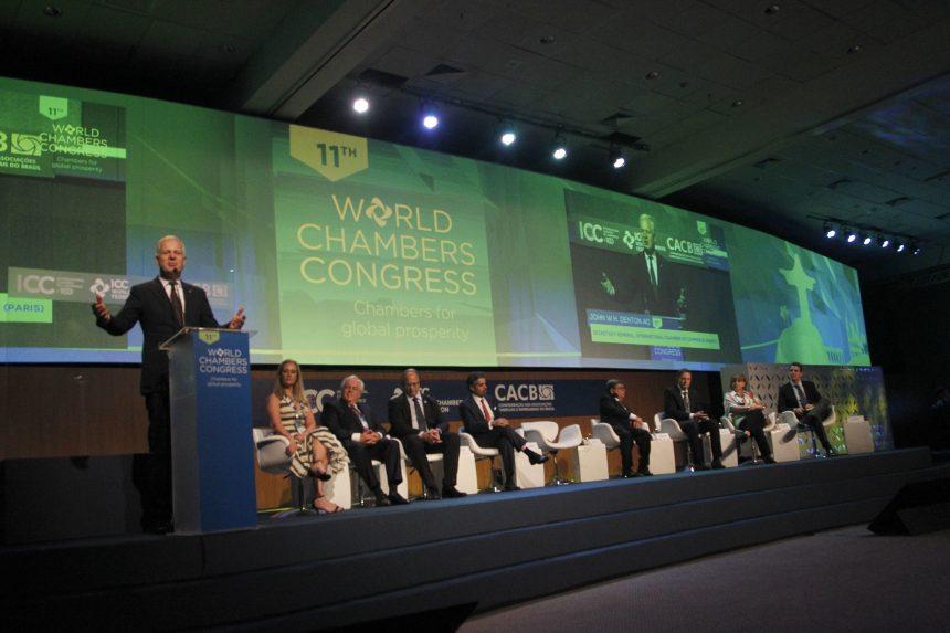 Abertura do Congresso Mundial das Câmaras de Comércio