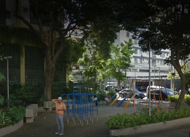 Praça Doutor Álvaro de Bragança, na Tijuca: adotada por condomínio pelo período de dois anos. Foto: divulgação