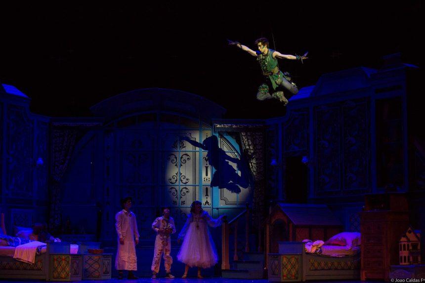 Peter Pan, o Musical: atração na Barra da Tijuca. Foto: divulgação