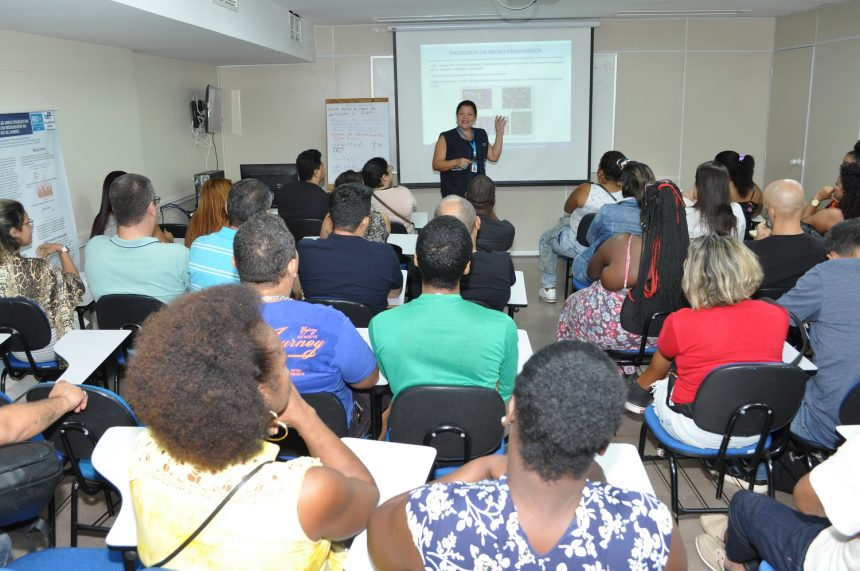 Curso de capacitação da Vigilância Sanitária. Foto: divulgação