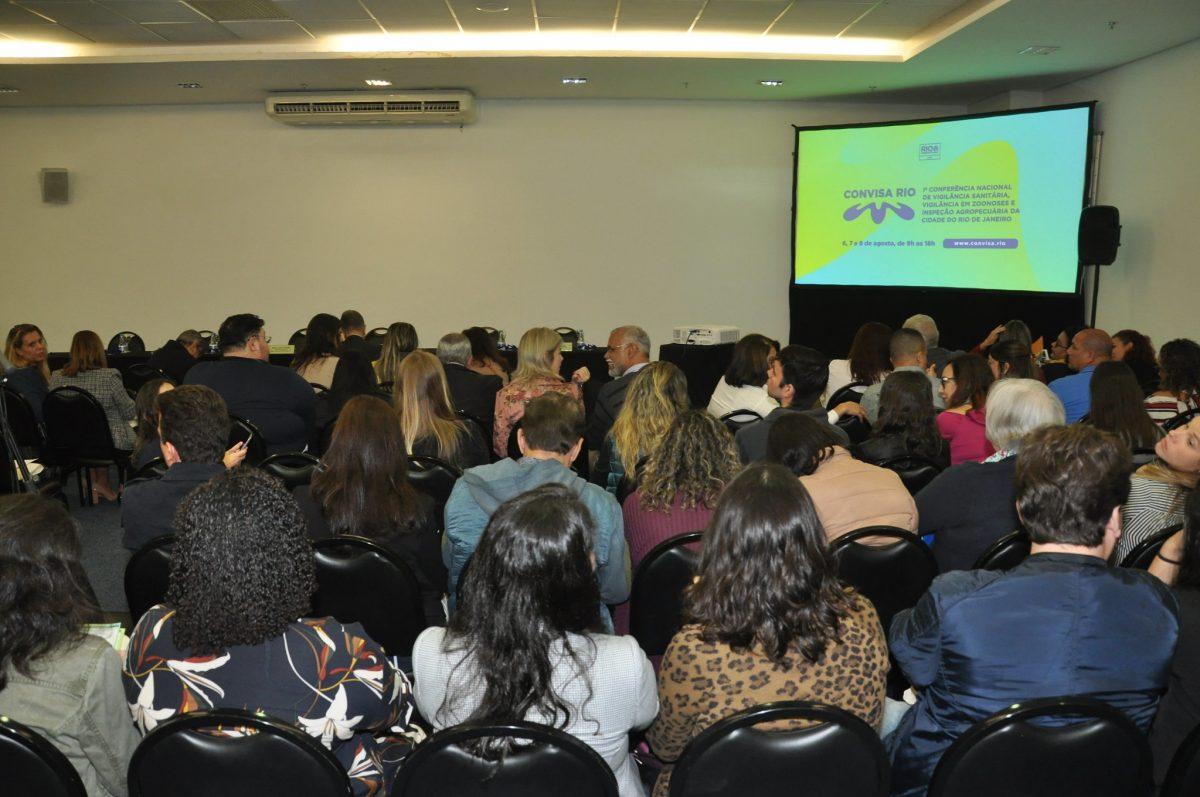 Convisa reúne 500 conferencistas em encontro nacional sobre vigilância sanitária. Foto: Nelson Duarte / Prefeitura do Rio