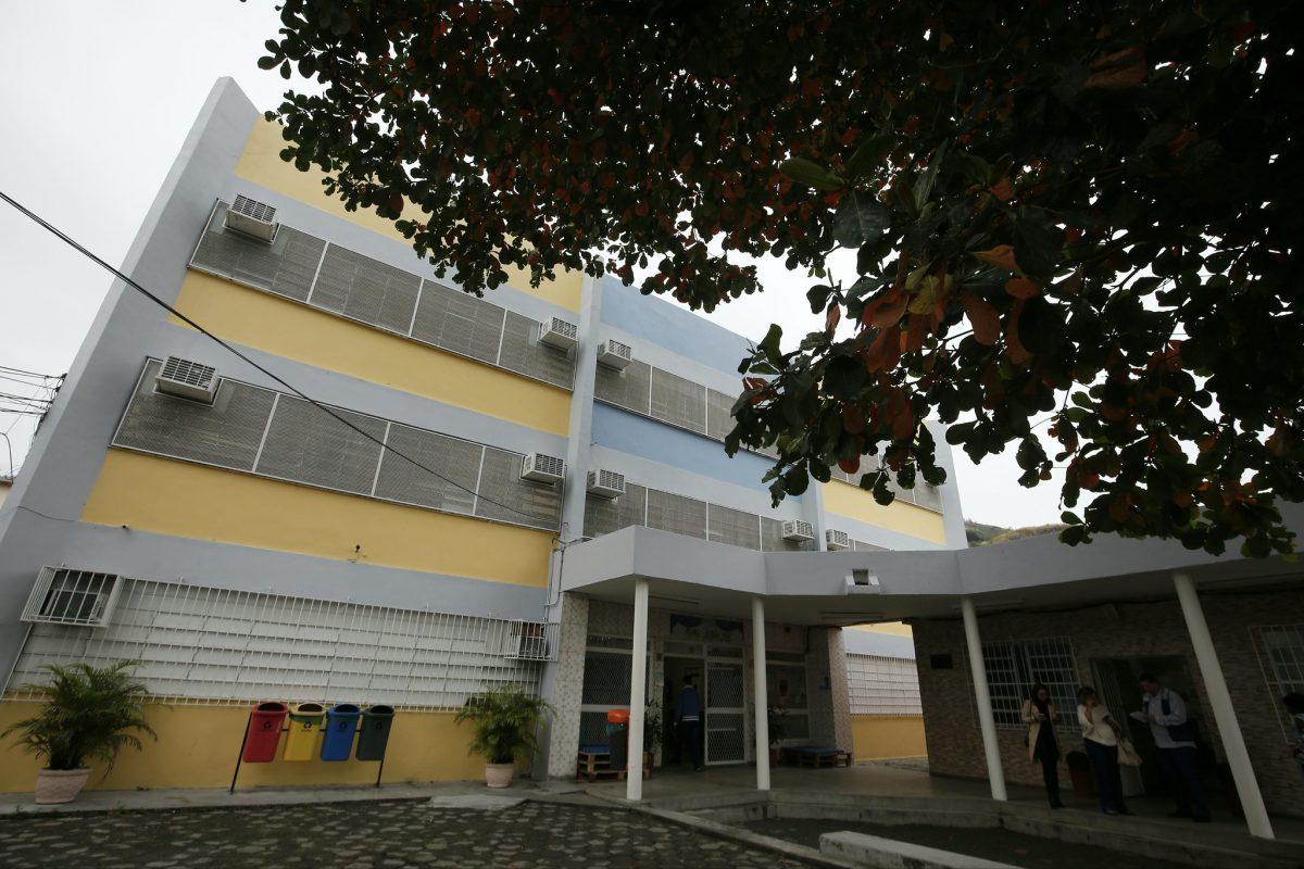 A Escola Municipal República El Salvador, em Piedade