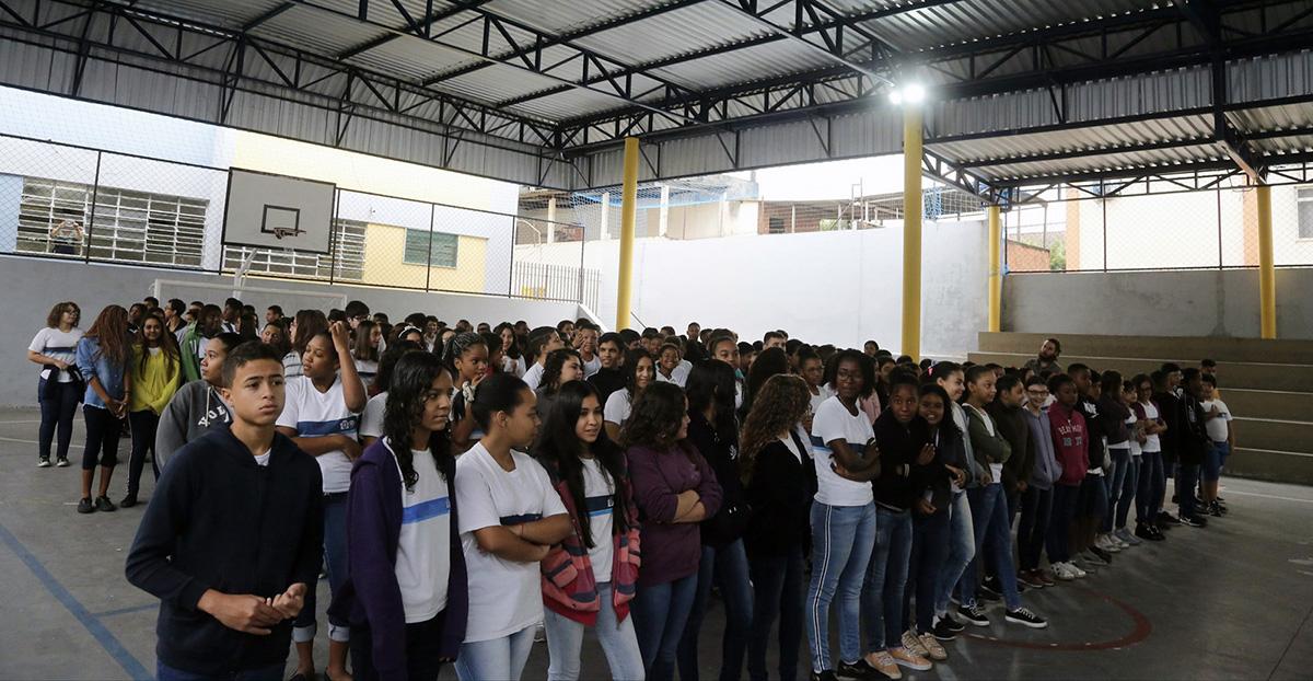 Prefeitura do Rio entrega escola reformada na Zona Norte da cidade