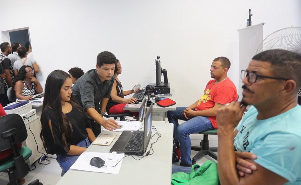 Centro Municipal de Trabalho e Emprego de Santa Cruz. Foto: divulgação / Prefeitura do Rio