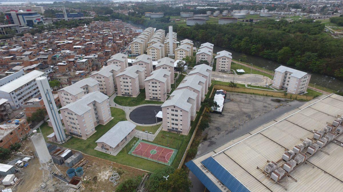 Mandela de Pedra I e II: moradia digna para pessoas que viviam há dez anos de aluguel social. Foto: Richard Santos / Prefeitura do Rio