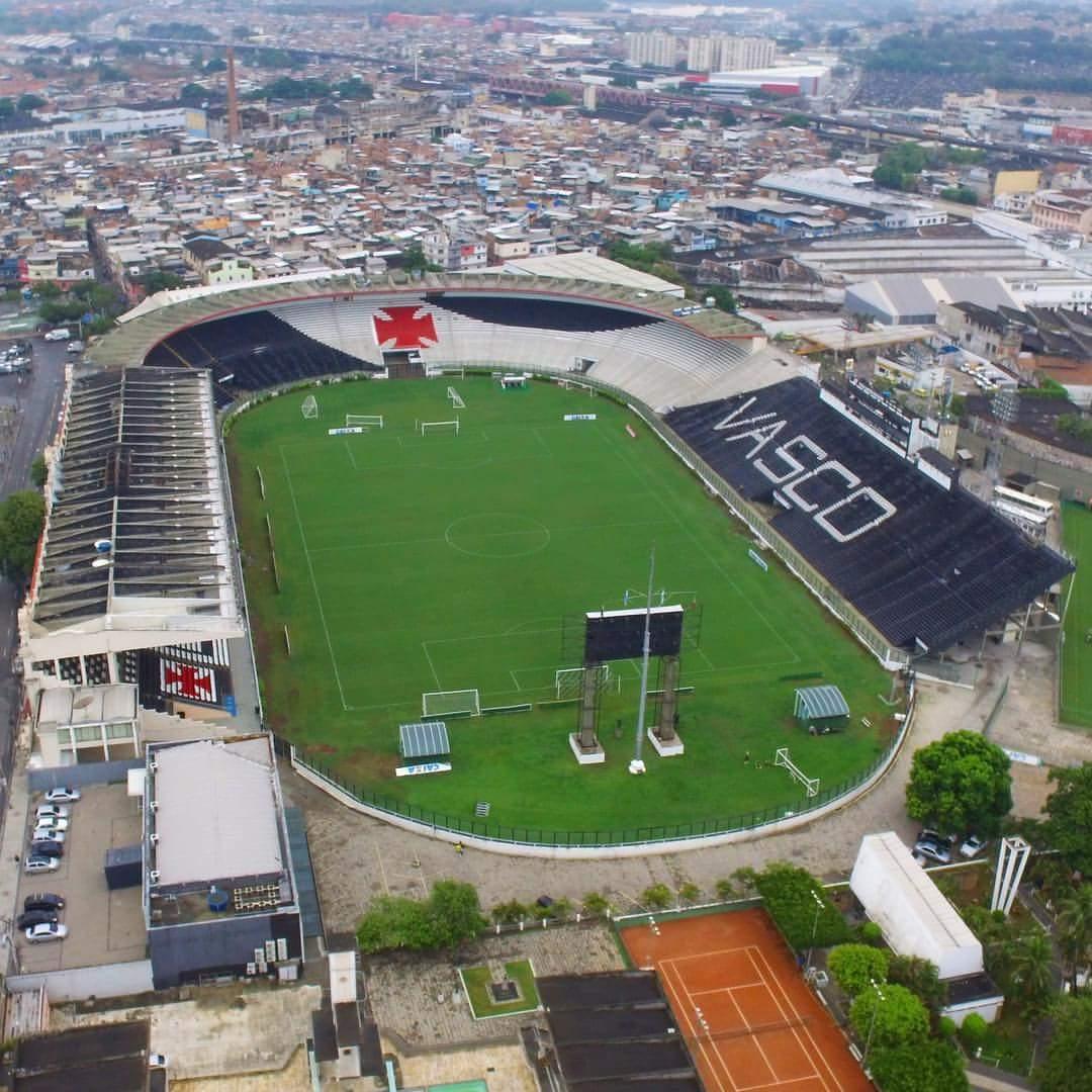 São Januário, estádio do Vasco. Foto: netvasco.com.br