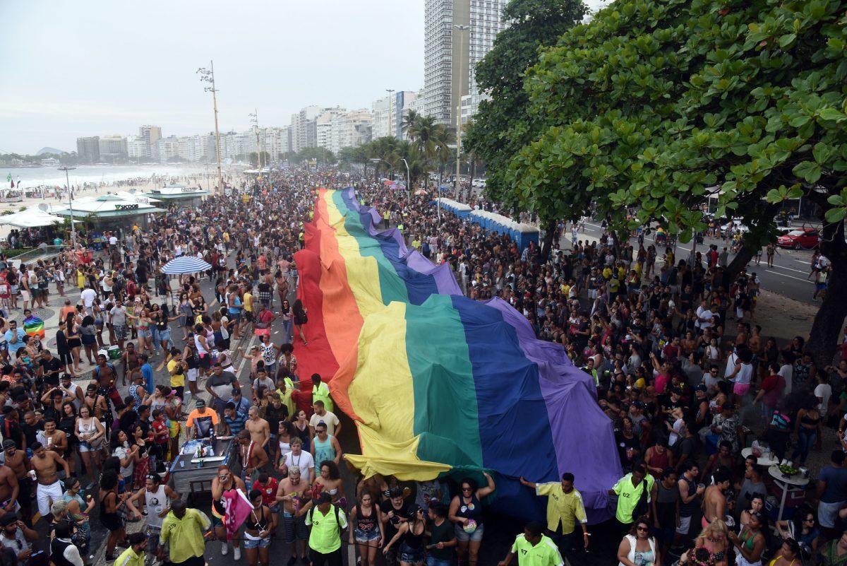 23ª Parada do Orgulho LGBTI, realizada em 2018, em Copacabana. Foto: Alexandre Macieira / Riotur