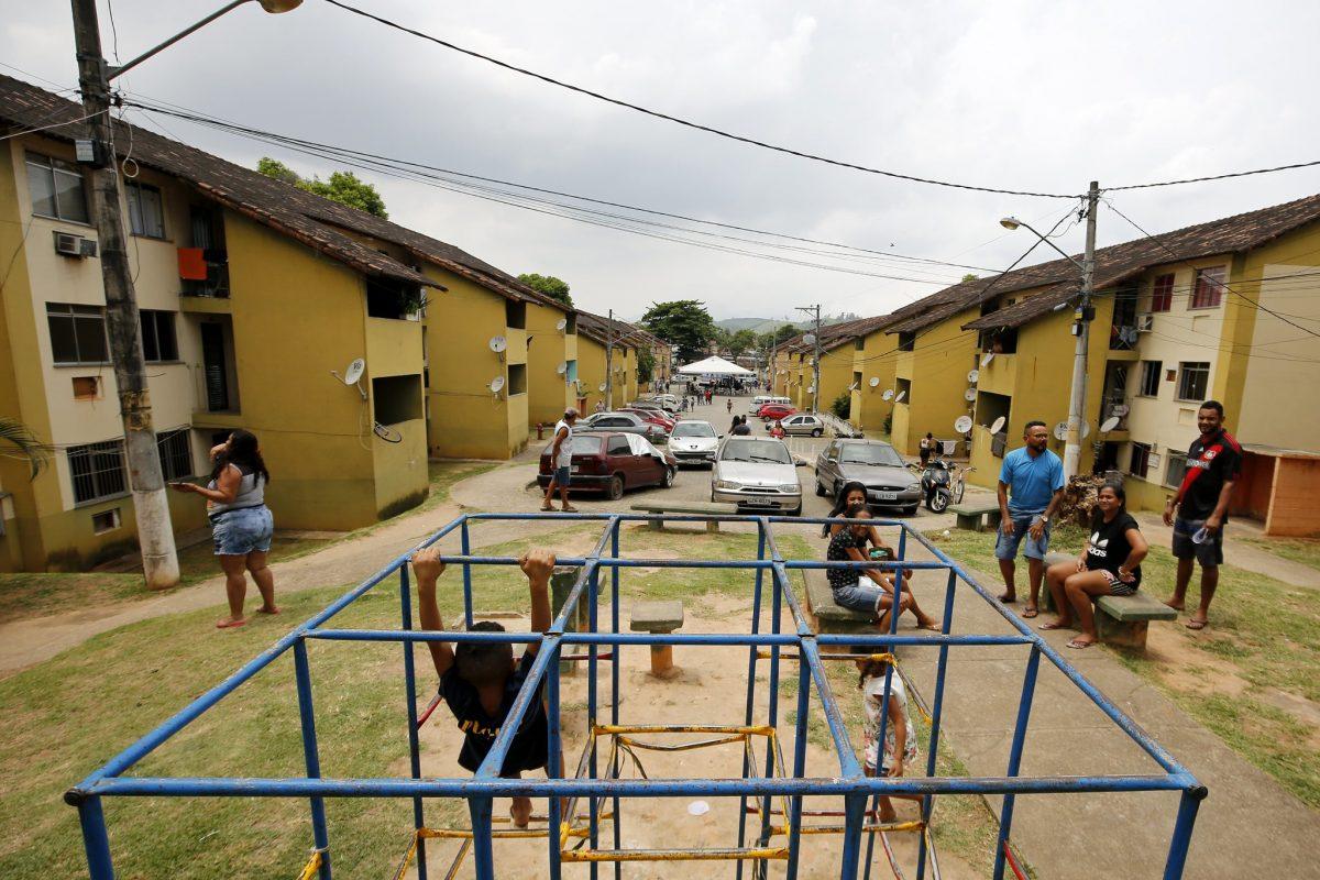 Condomínio Vivendas das Castanheiras, em Cosmos, um dos beneficiados com a entrega de 232 RGIs a moradores, que enfim realizam o sonho da casa própria. Foto: Marcos de Paula / Prefeitura do Rio