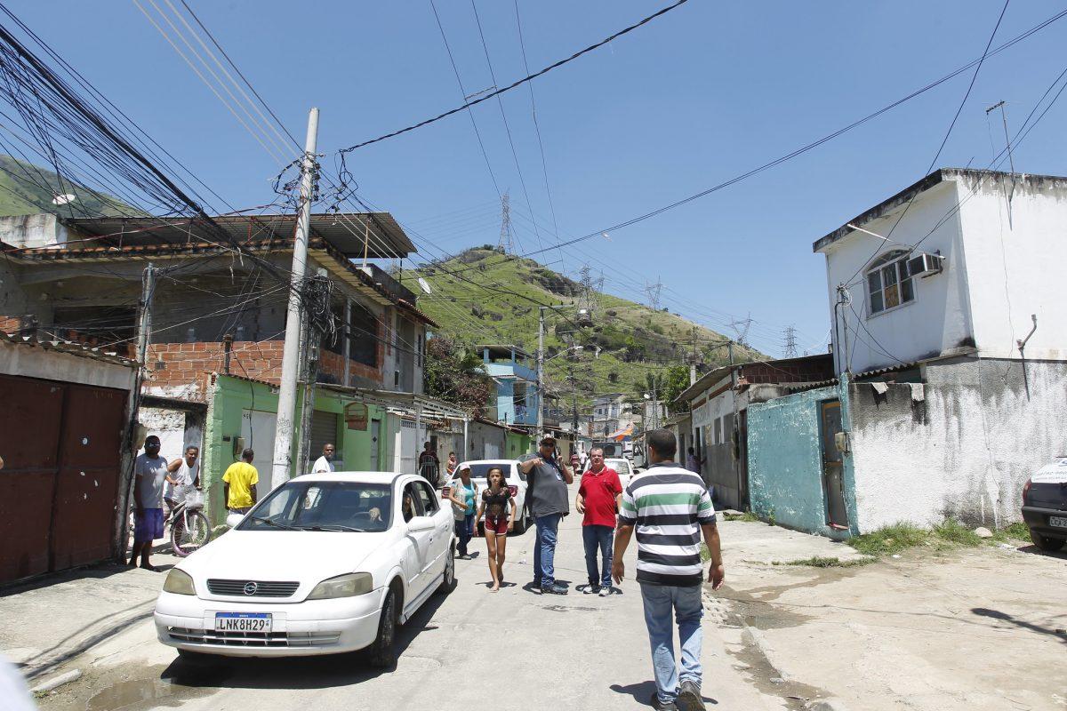 A comunidade Santo André, em Rio da Prata, Bangu, vai receber obras de melhoria e ganhar uma clínica da família. Foto: Marcelo Piu / Prefeitura do Rio