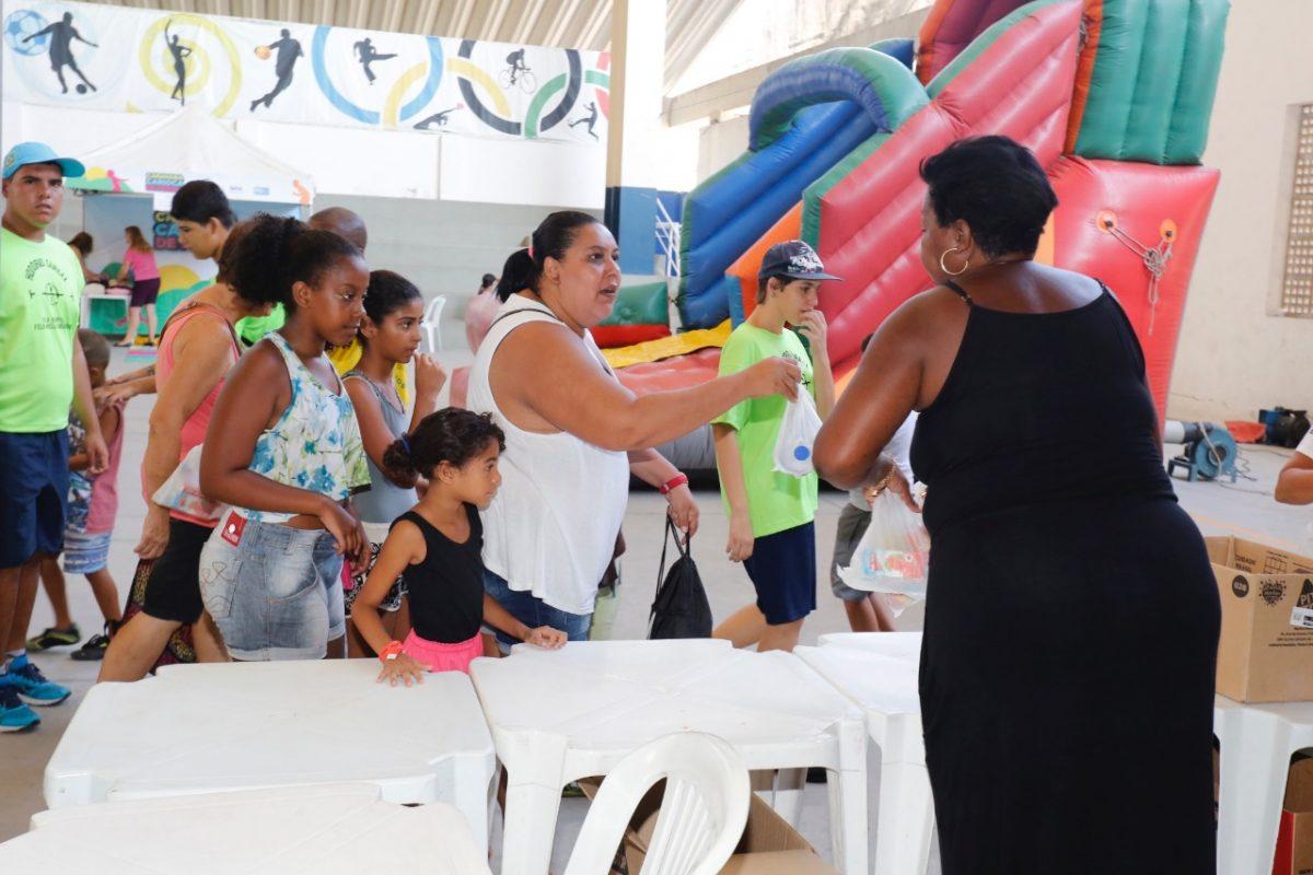 As vilas olímpicas municipais oferecem atividades variadas para crianças e adolescentes. Foto: divulgação