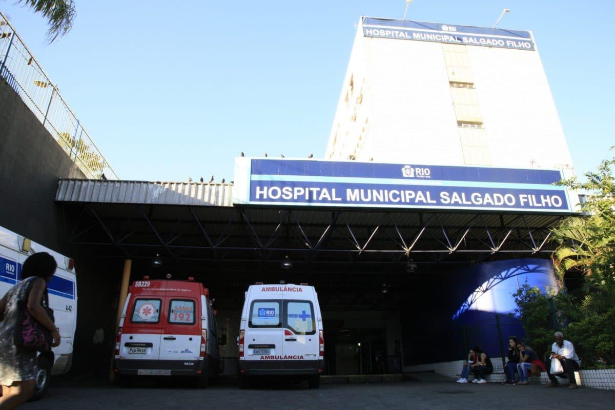 Fachada do Hospital Municipal Salgado Filho