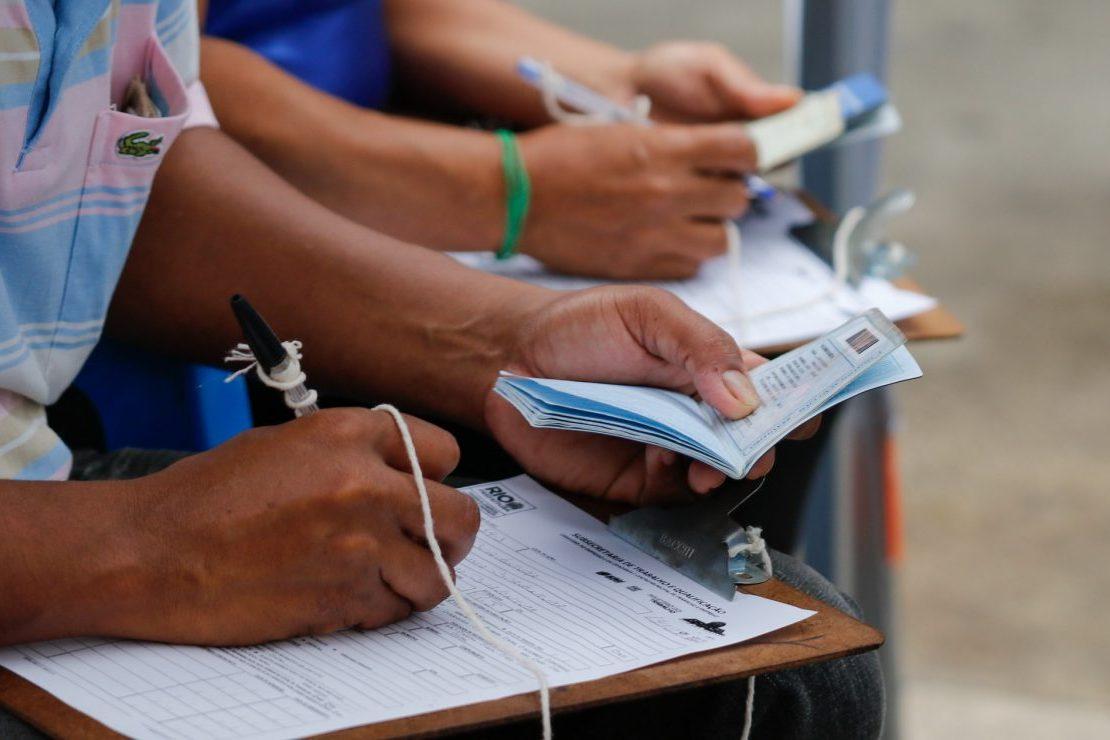 SMDEI encaminha para vagas de emprego. Foto: Marcelo Piu/ Prefeitura do Rio