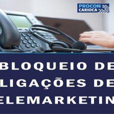 Procon Carioca: bloqueio de ligações de telemarketing