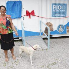 Moradora de Campo Grande, Valéria Nunes da Cunha levou o cãozinho Joe para ser tratado