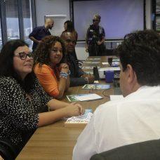 A secretária de Saúde com o ministro da Saúde, durante a reunião em que foi anunciada a antecipação do repasse de verbas. Foto: Mariana Ramos/Prefeitura do Rio