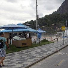 Quiosque na orla carioca. Foto: Paulo Sérgio / Prefeitura do Rio