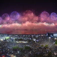 Réveillon na Praia de Copacabana: o maior e melhor do mundo estará ainda mais grandioso na virada para 2020. Foto: Richard Santos | Riotur