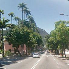 Trecho da Rua Jardim Botânico. Foto: reprodução