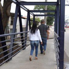 Inauguração de ponte na Estrada do Magarça, altura do número 3781 em Campo Grande. Fotos Hudson Pontes / Prefeitura do Rio