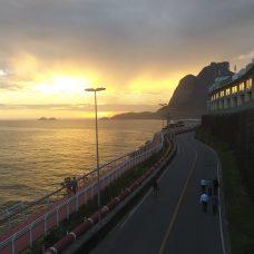 Trecho da Avenida Niemeyer, durante vistoria em novembro. Foto: Hudson Pontes / Prefeitura do Rio