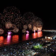 Réveillon 2020 em Copacabana. Foto: Alex Ferro / Riotur