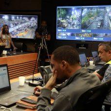 Eventos na cidade são monitorados por equipes técnicas da Prefeitura. Foto: Marcos de Paula / Prefeitura do Rio