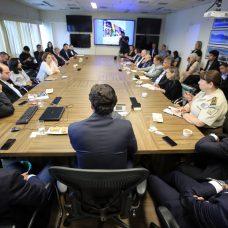 Ministro do Turismo, Marcelo Álvaro Antônio, se reuniu com o Conselho de Turismo do Rio. Foto: Marcos de Paula / Prefeitura do Rio