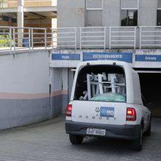 Chegada de insumos para o tratamento de pessoas infectadas pelo coronavírus no Hospital Municipal Ronaldo Gazolla. Foto: Mariana Ramos / Prefeitura do Rio