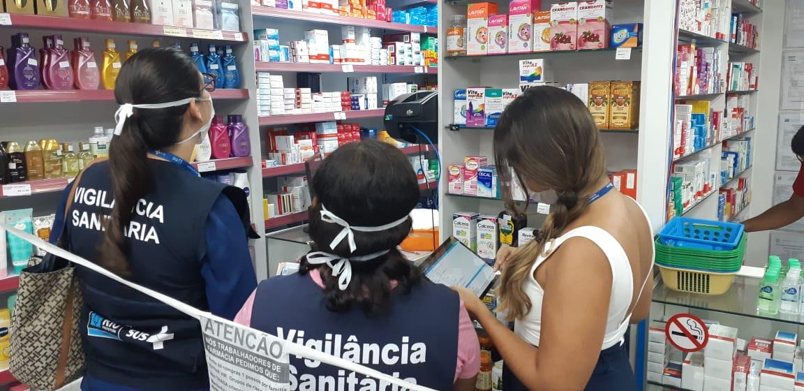 Coronavírus: Vigilância Sanitária faz inspeção em farmácias para conferir denúncia de venda de testes rápidos - Prefeitura da Cidade do Rio de Janeiro - prefeitura.rio