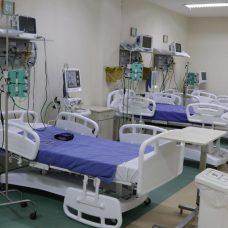 Leitos exclusivos para tratamento da Covid-19 na rede municipal. Foto: Mariana Ramos / Prefeitura do Rio