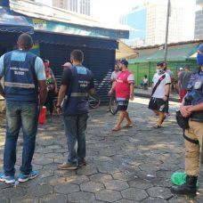 Agentes da Seop fazem operação na Uruguaiana. Foto: Divulgação / Seop