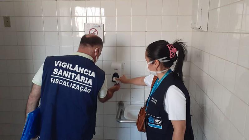 Nos encontros será possível conhecer um pouco do trabalho da Vigilância Sanitária neste período de pandemia. Foto: Divulgação / Prefeitura do Rio