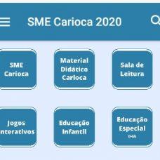 Aplicativo SME Carioca 2020 ultrapassou 5 milhões de acessos. Foto: Divulgação / Prefeitura do Rio